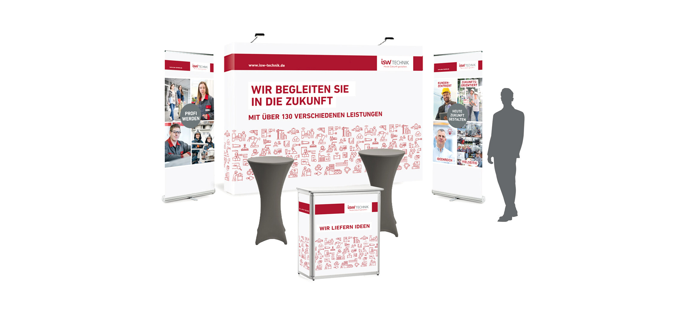 ISW-TECHNIK Messestand